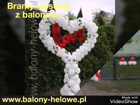 Bramy Weselne Te Quiero Dekoracje Mielec Youtube