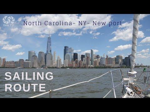 Sailing route: North Carolina- NY- Newport | Sea TV