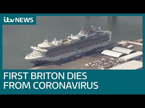 Diamond Princess Cruise Ship Briton Dies From Coronavirus | ITV News