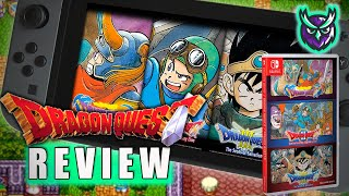 Dragon Quest 1, 2 & 3 Switch Review - The Grandfathers of JRPGs! (Video Game Video Review)