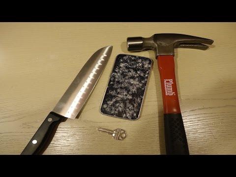 Samsung Galaxy S6 Edge Scratch & Hammer Test!