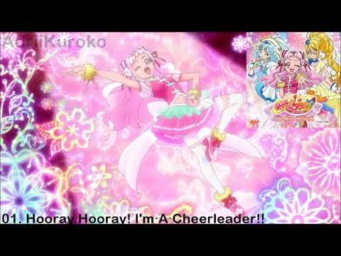 HUGtto! Precure Character Song Single - 01. Hooray Hooray! I'm・A・Cheerleader!!