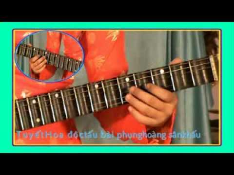 TUYẾT HOA độc tấu guitar: bài Phụng Hoàng SK (19)