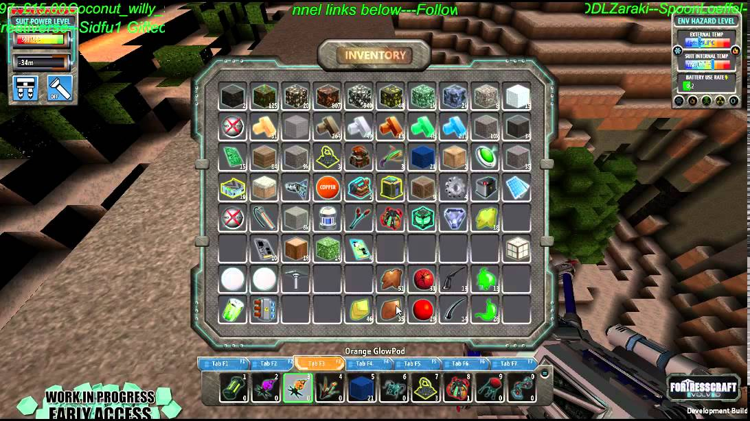 fortresscraft evolved how to make wire