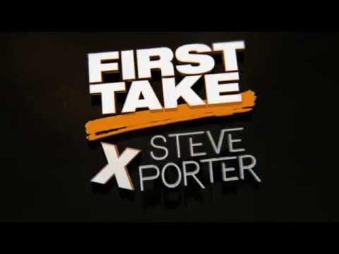 """First Take Intro """"Hype"""" by DJ Steve Porter"""