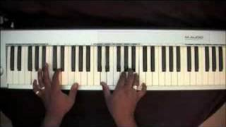 Wedding Song - Jamie Foxx Show - Piano Tutorial
