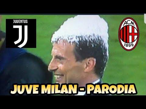 FINALE JUVE MILAN 4-0 - Parodia