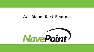 NavePoint Wall Mount Rack Features