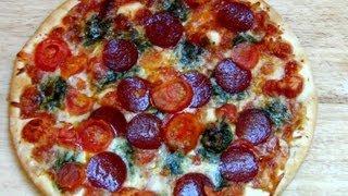 Buona Pizza (Salami Mozzarella Pesto) [Trattoria Alfredo LIDL]