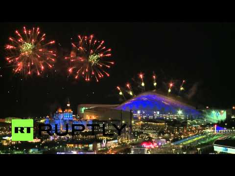 Russia: Dazzling sneak peek of Sochi opening fireworks