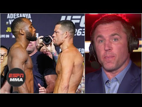 Nate Diaz chose Leon Edwards for a reason – Chael Sonnen   UFC Live