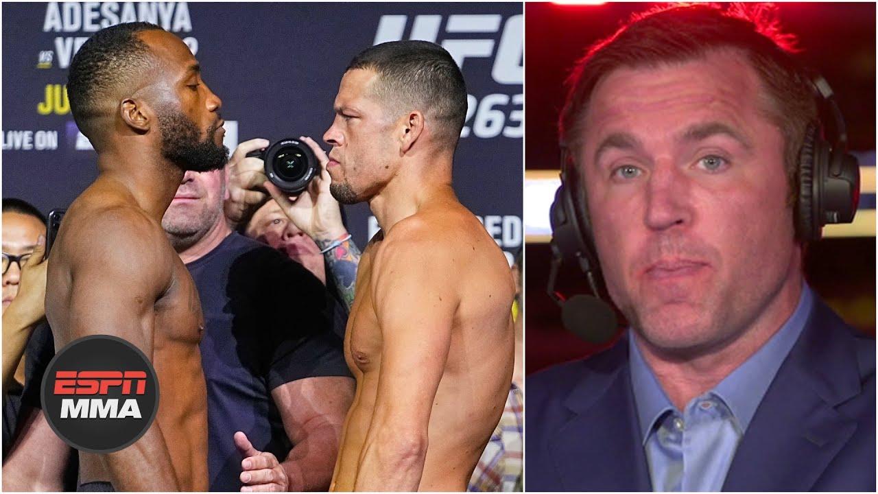 Nate Diaz chose Leon Edwards for a reason – Chael Sonnen | UFC Live