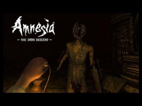 Самый клевый хоррор стрим по игре амнезия призраки прошлого (amnesia the dark descent)