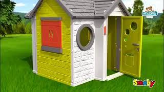 Domeček pro děti My House Smoby se zvonkem a UV fi