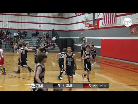 """7th Grade """"B"""" - Cross Timbers Wolves at Grapevine Middle School Ponies  - 7pm - February 4, 2019"""