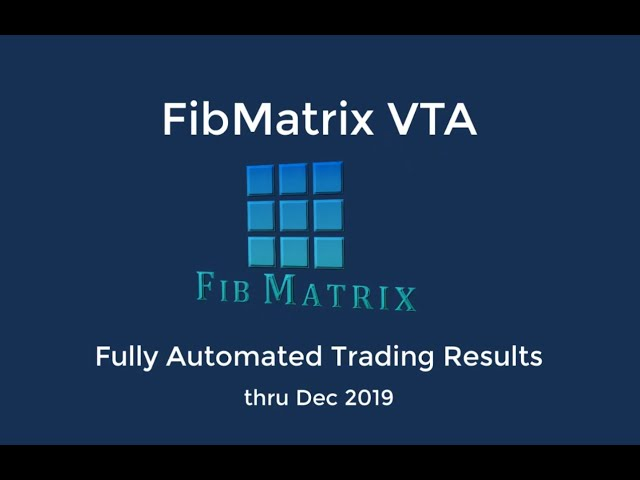 FibMatrix VTA Fully Automated forex trading software performance results  Jan 2020 – Trend +320 pips