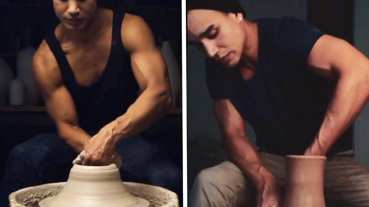 Maravillosamente fascinante la Videos de la cerámica Sensual