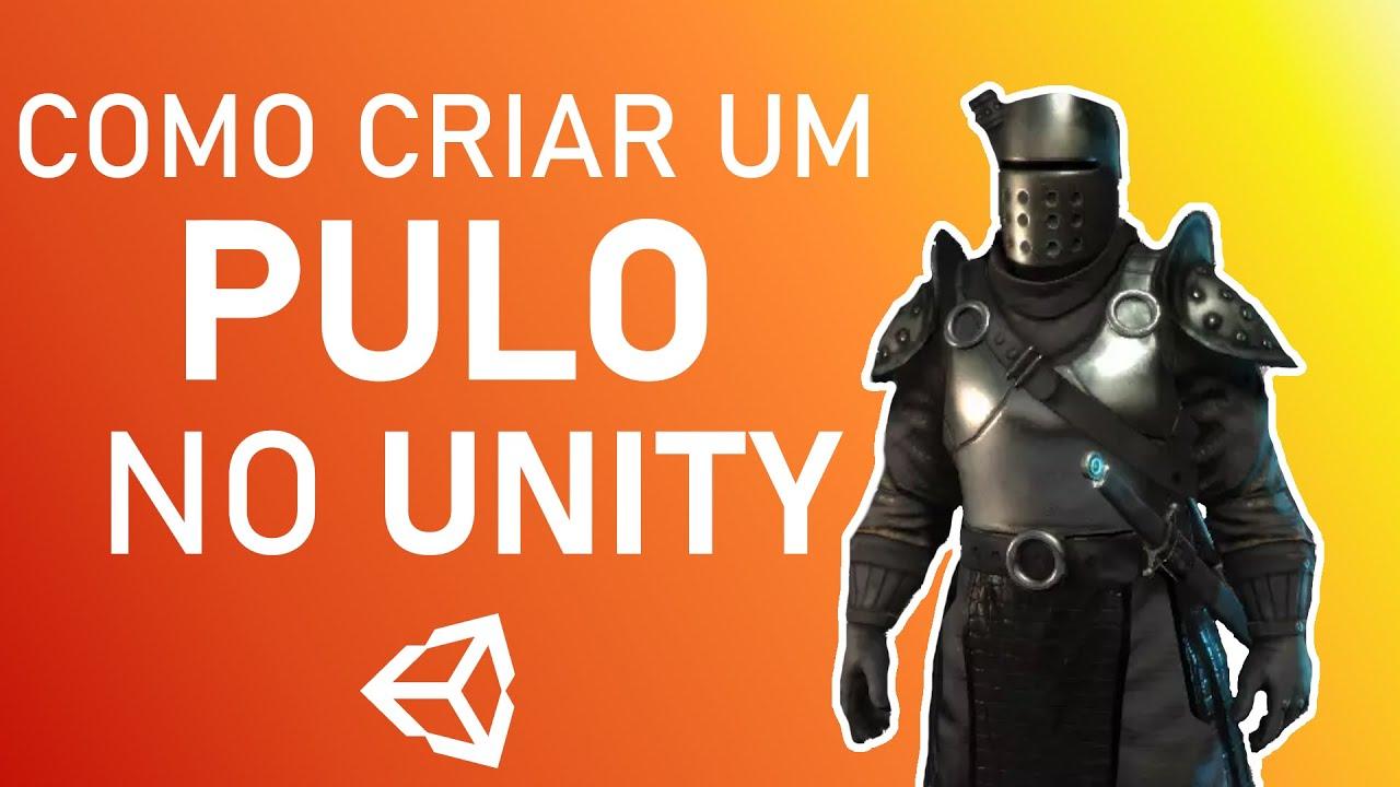COMO CRIAR UM PULO NO UNITY | Manedev Unity Tutorial