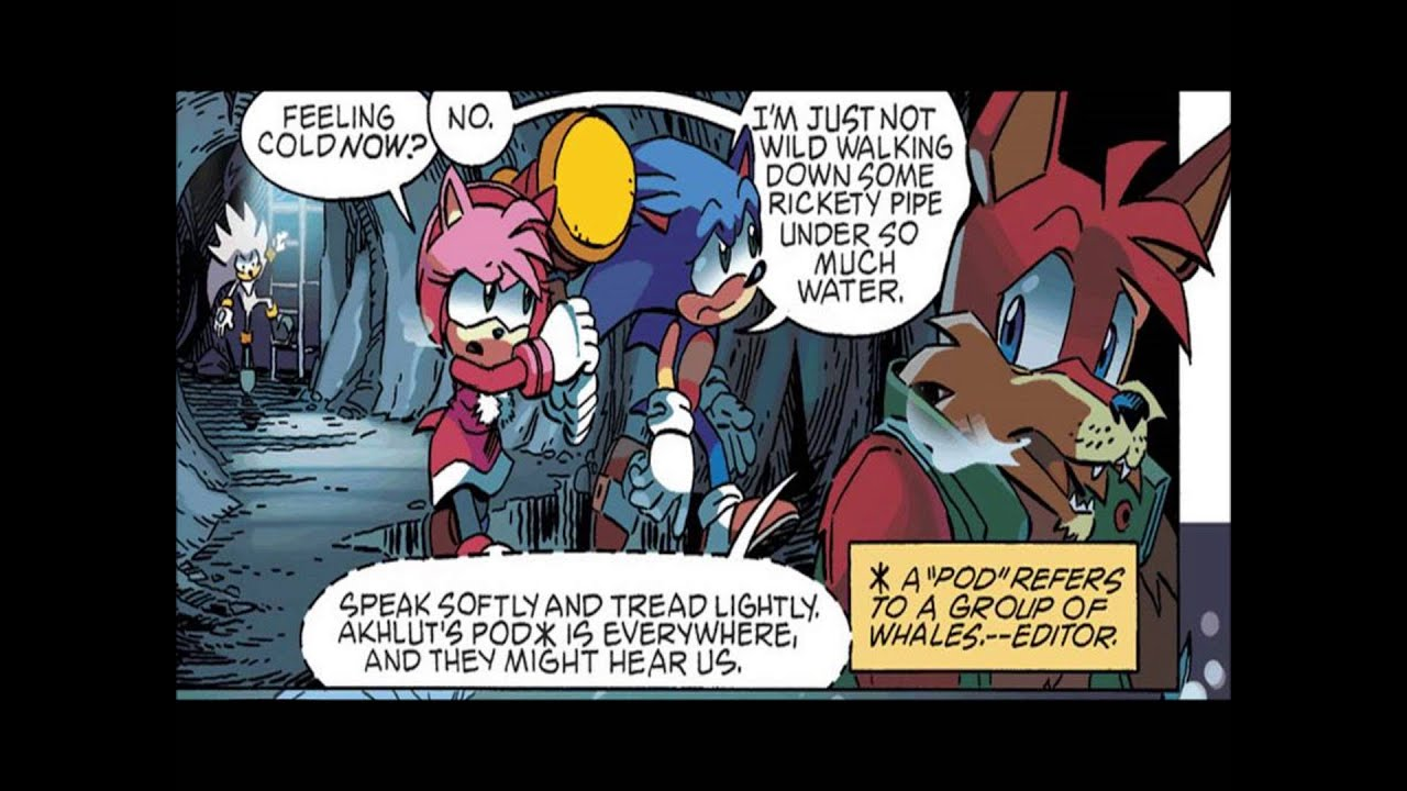 Sonic the Hedgehog Comic Issue #247 - Worlds Collide in 1