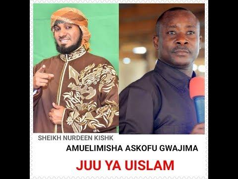 MAJIBU KWA ASKOFU GWAJIMA.  Sheikh Nurdeen Kishk Amuelimisha Askofu Gwajima Kielimu Juu ya Uislam