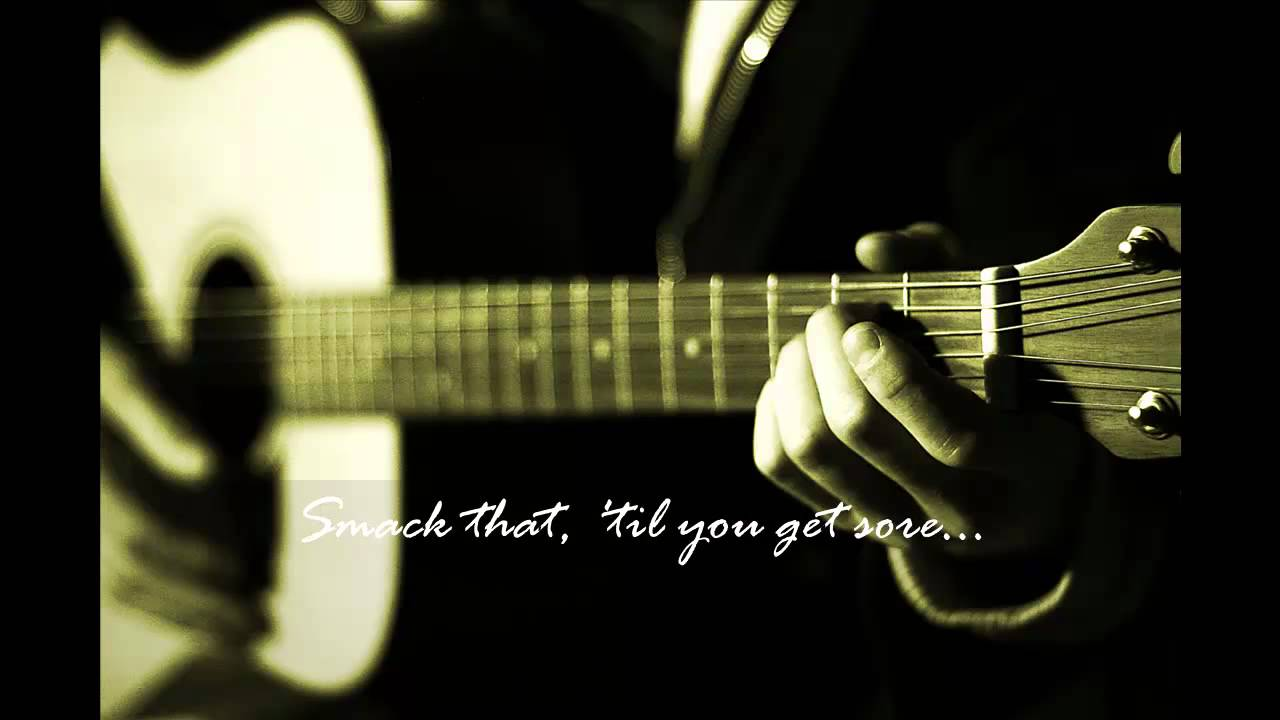 Akon Smack That Guitar Cover Acoustic Youtube