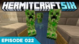 Hermitcraft VI 022 | CREEPERS EVERYWHERE! 🤢 | A Minecraft Let's Play