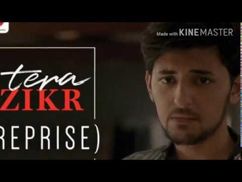 Tera Zikr - Darshan Raval - Lyrical Video With guitar chords