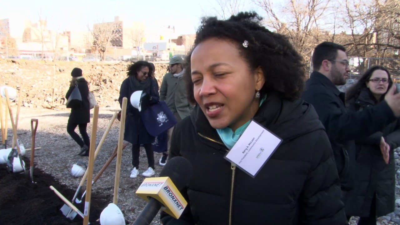 City Leaders Attend Groundbreaking For Bronx Commons