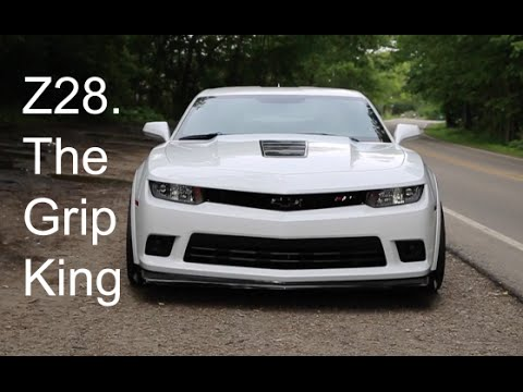 Camaro Z28 Review - Raw American Muscle!