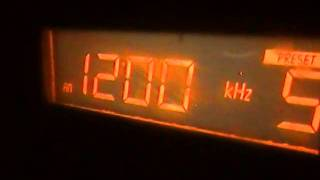 WOAI 1200 AM SIGNAL FROM SAN ANTONIO TEXAS TO ZACATECAS CITY MEXICO VIA SKYWAVE PROPAGATION SYSTEM