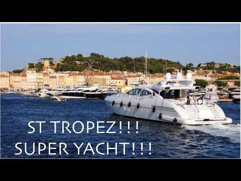 ST TROPEZ, SUPER YACHT DOCKING!!! (Captain's Vlog 73)
