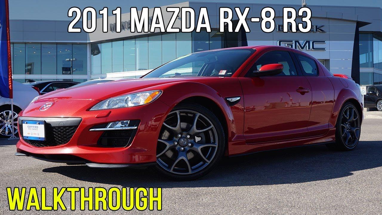 2011 Mazda Rx 8 R3 1 3l Rotary Engine Walkthrough Youtube
