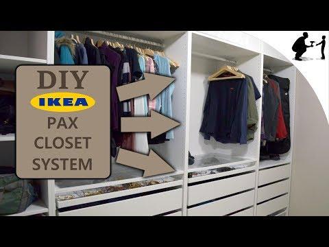 DIY: Custom Closet Using Ikea Pax System