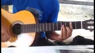 LYLA - Bernafas Tanpamu ( Cover Gitar ) - Akustik - Aditya Indrawan