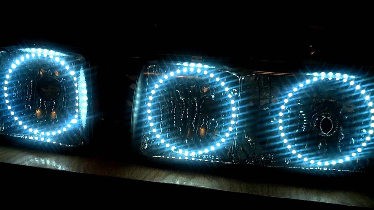 94-96 Caprice/Impala SS Custom Halo Install - YouTube