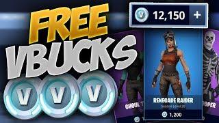 *NEW* V-Buck Glitch! - How To Get FREE V-Bucks In Fortnite Battle Royale (WORKING!)