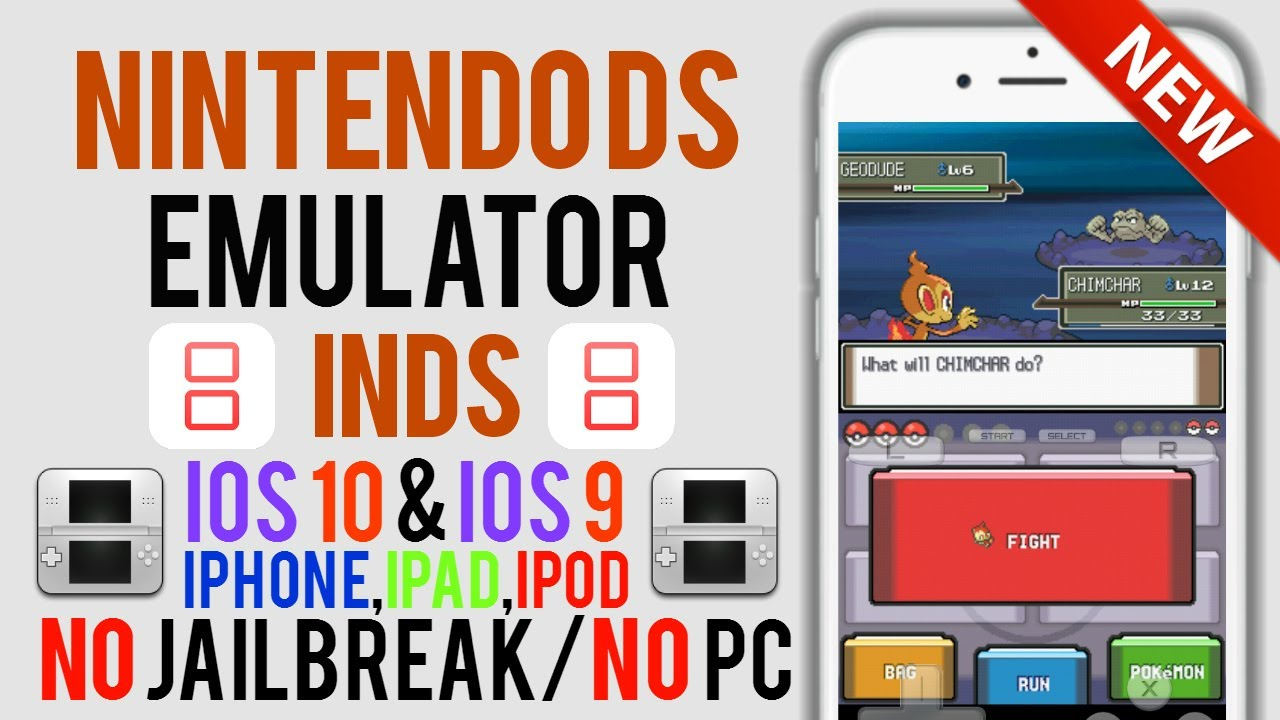 Nintendo DS Emulator Is BACK On iOS 11,10,9! (iNDS) NO Jailbreak/NO PC  [iPhone,iPad,iPod]