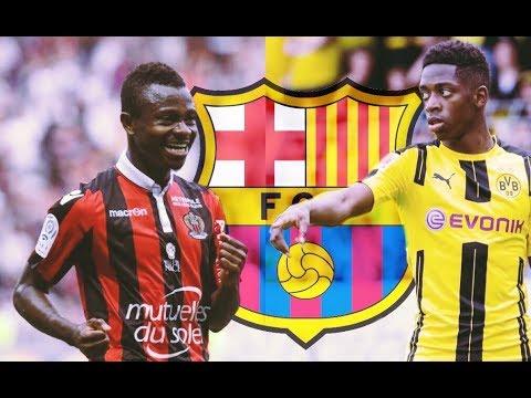 Barcelona Transfer Updates - ft. Dembele, Seri & Coutinho
