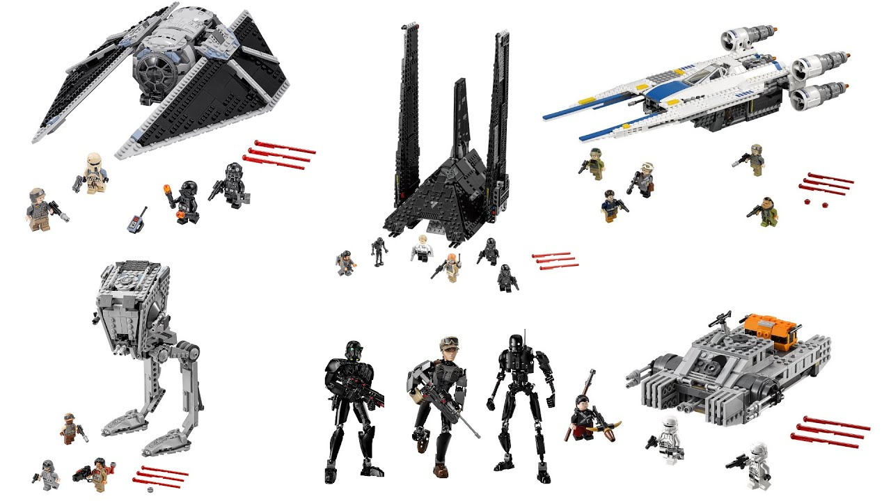 all lego star wars rogue one sets pictures info rogue. Black Bedroom Furniture Sets. Home Design Ideas