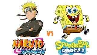((KID)) Naruto Shippuden opening 8 Spongebob  - Parody Ver.