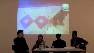 TALK:curator Koyo Kouoh, Jean Michel Bruyère and artist Issa Samb
