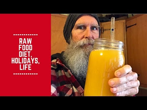 Raw Food Diet, Holidays, Life: Don't Take it so Seriously