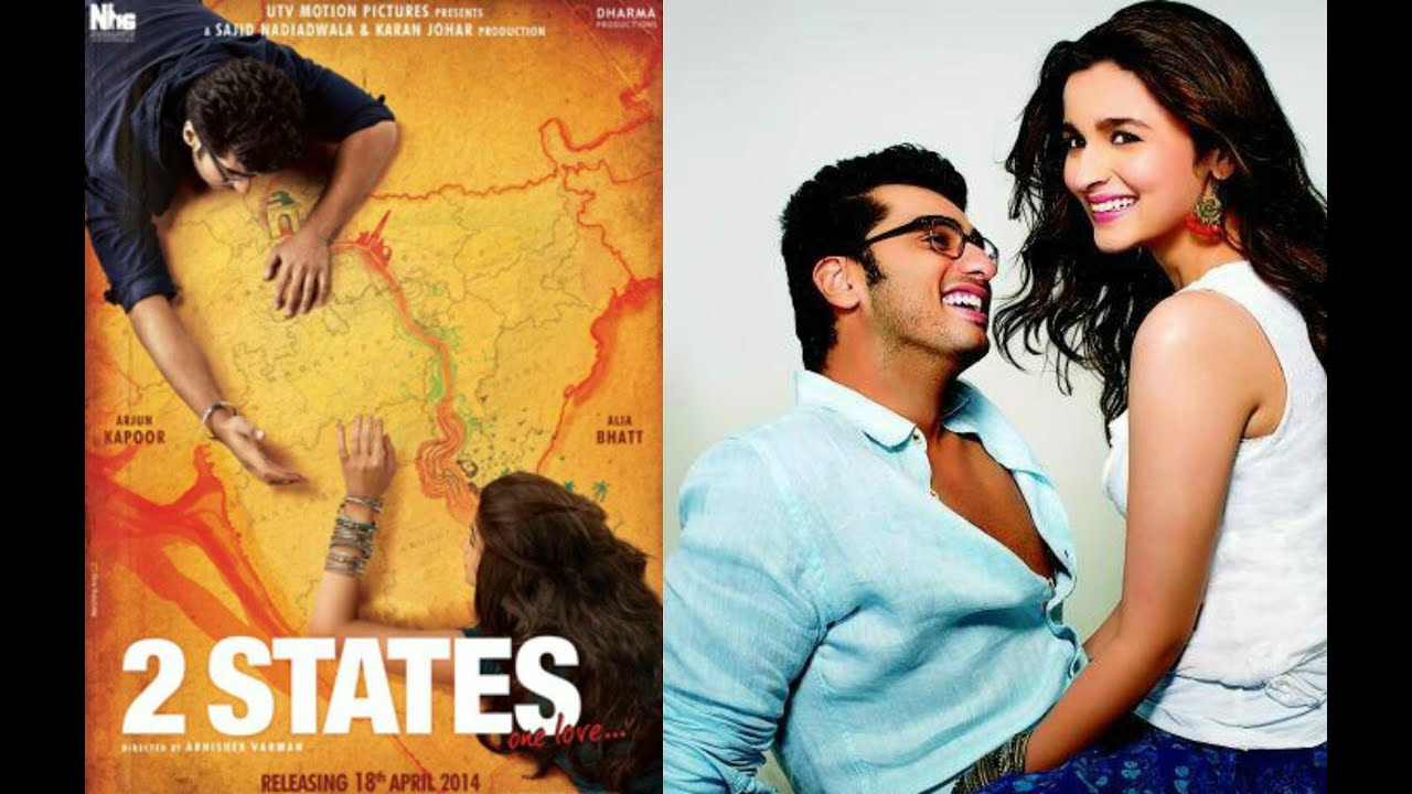 2 states first look posters revealed alia bhatt arjun