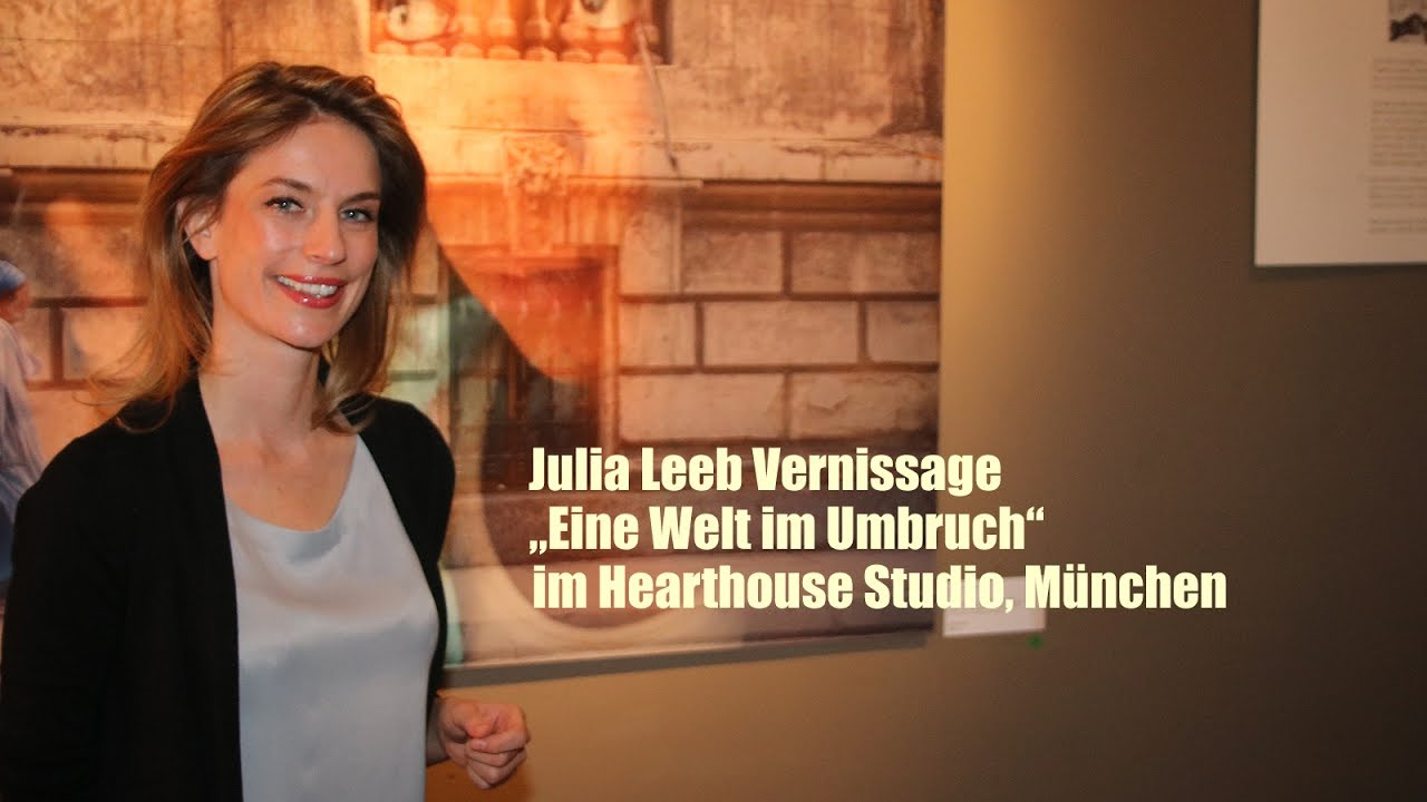 julia leeb vernissage eine welt im umbruch hearthouse studio m nchen youtube. Black Bedroom Furniture Sets. Home Design Ideas