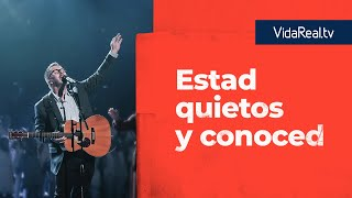 Estad quietos y conoced. | Notificaciones | Pastor Mark Harris