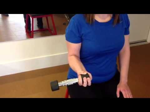 Forearm Pronation and Supination exercise - YouTube