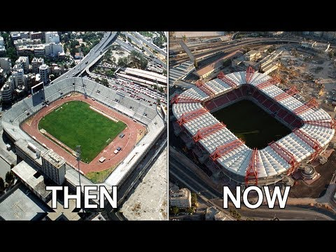 Greece Superleague Stadiums Then & Now