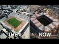 Greece Superleague Stadiums Then & Now