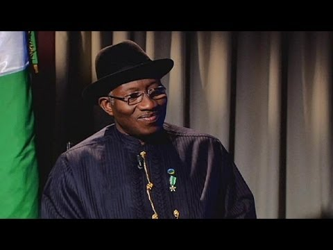 'No, no, no!' President Goodluck Jonathan - no regrets over suspending Nigeria's whistle-blowing...