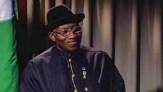 'No, no, no!' President Goodluck Jonathan - no regrets over suspending Nigeria's whistle-blowing...